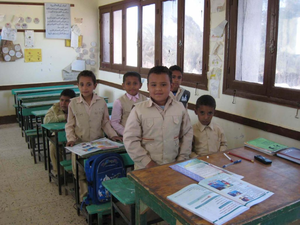 Programming in Egypt Schools
