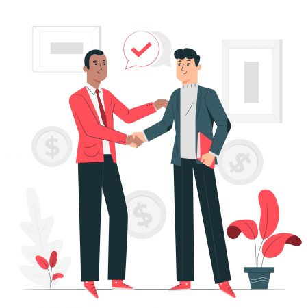 Icon of closing business deal